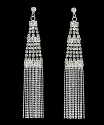 Empress Rhinestone Earrings