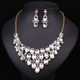 Starla Crystal Necklace Set