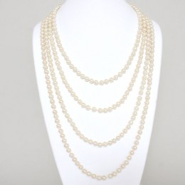 Elina Faux Pearl Necklace