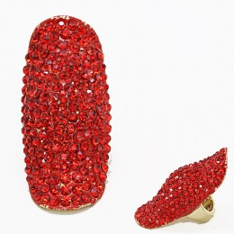 Jaquelin Rhinestone Ring