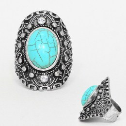 Lilly Turquoise Stone Ring