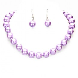 Anita Faux Pearl Necklace Set1