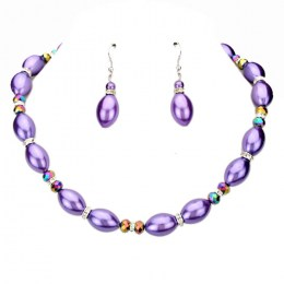 Nathalee Bead Necklace Set 1