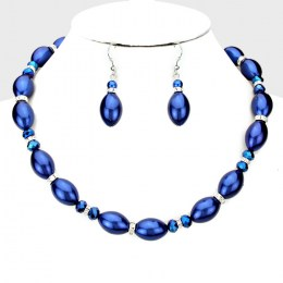 Genevra Bead Necklace Set