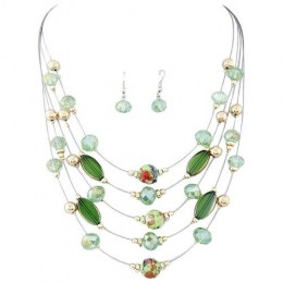 Karolina Bead Necklace Set