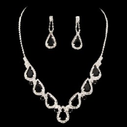 Livia Rhinestone Necklace Set.