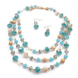 Frija Bead Necklace Set