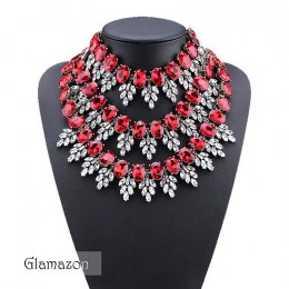 Glamazon - Nicolette Crystal Necklace