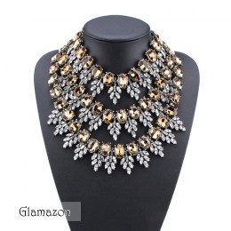 Glamazon - Millicente Crystal Necklace
