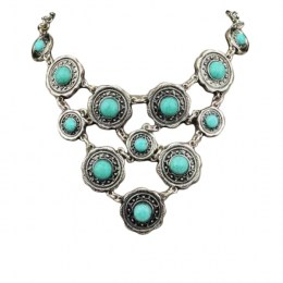 Fanetta Turquoise Necklace