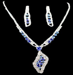 Joanna Rhinestone Necklace Set
