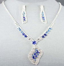 Joanna Rhinestone Necklace Set II