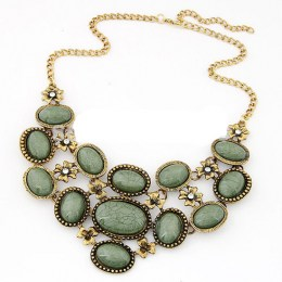 Eugenia Stone Necklace Set