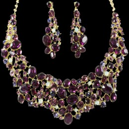 Tiana Crystal Necklace Set