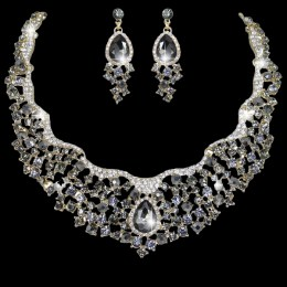 Mya Crystal Necklace Set