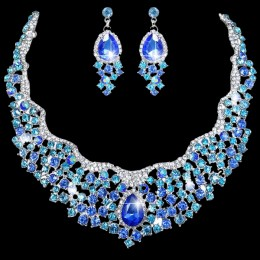 Tessa Crystal Necklace Set