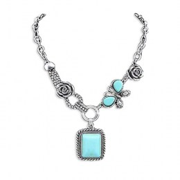 Raina Turquoise Necklace.