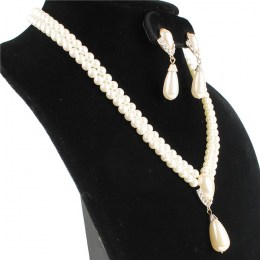 Chantrell Faux Pearl Necklace Set, III