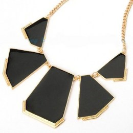 Brianna Black Beauty Fashion Necklace 1