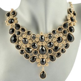 Mardy Black Beauty Fashion Necklace 1