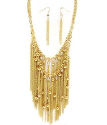 Sade Bib Necklace Set