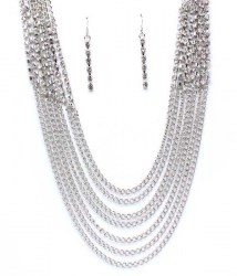 Audrey Multi Strand Necklace Set