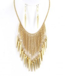 Lucia Bib Necklace Set