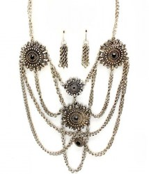 Tess Multi Strand Necklace Set