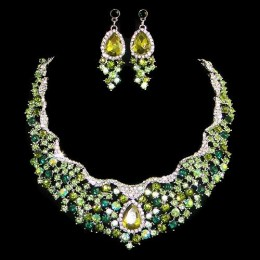 Sofia Crystal Necklace Set