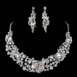 Chrissy Crystal Necklace Set