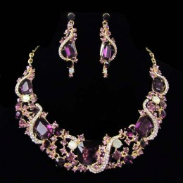 Ingrid Crystal Necklace Set