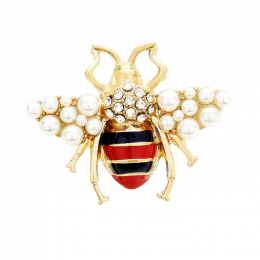 Honey Bee Rhinestone Ring
