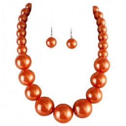 Debbi Pearl Necklace Set