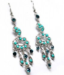 Jamie Turquoise Earrings