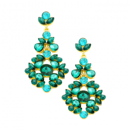 Helaine Crystal Earrings