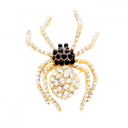 Spider Rhinestone Ring