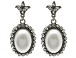 Paris Faux Pearl Earrings