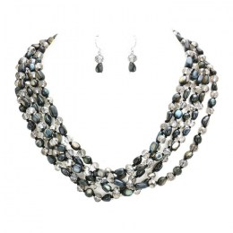 Vedette Bead Necklace Set
