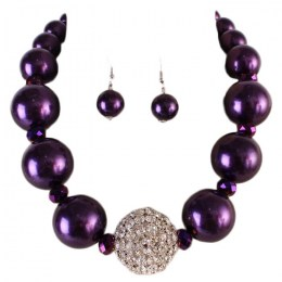 Adonia Pearl Necklace Set