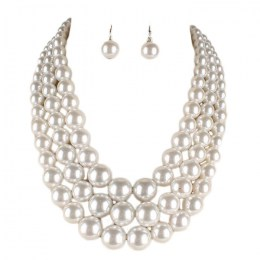 Benita Pearl Necklace Set