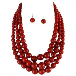 Harriette Pearl Necklace Set