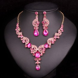 Amedee Crystal Necklace Set