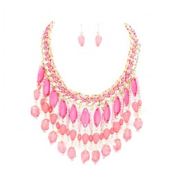Cherise Bead Necklace Set