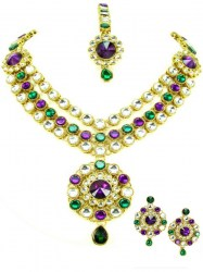 Malika Indian Necklace Set