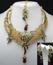 Trisha Indian Necklace Set