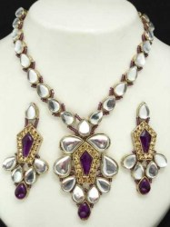 Maliha Indian Necklace Set
