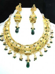 Champa Indian Necklace Set
