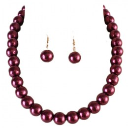 Deva Pearl Necklace Set