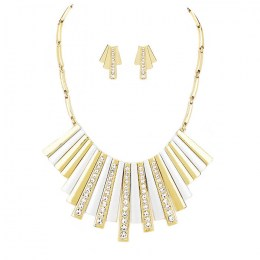 Rayne Crescent Necklace Set.