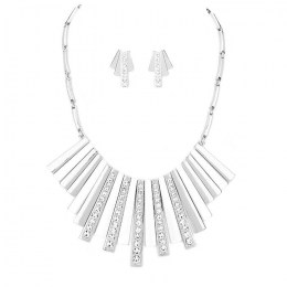 Leonie Crescent Necklace Set.